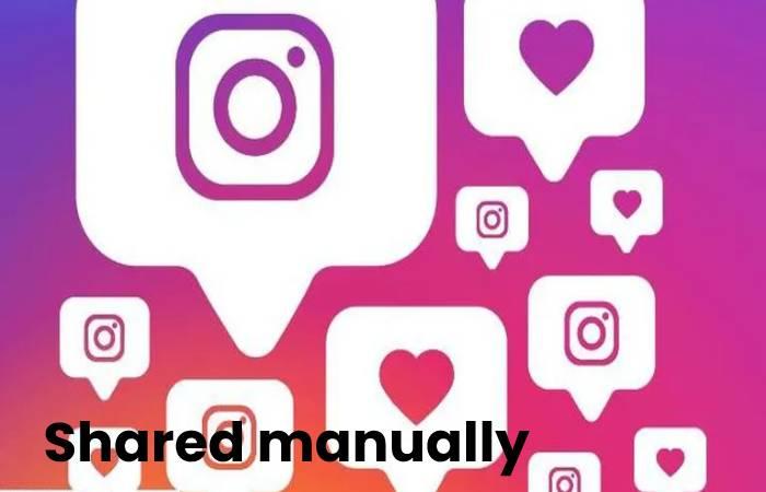 Shared manually