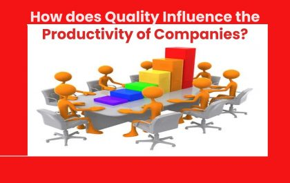 How does Quality Influence the Productivity of Companies?